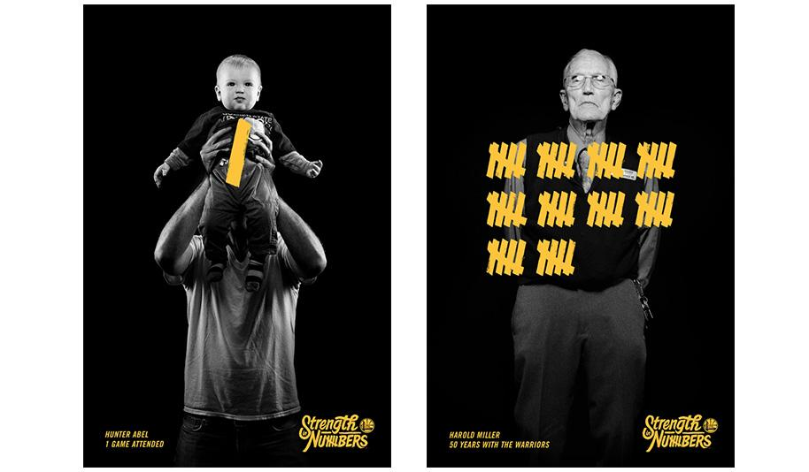 Golden State Warriors Ads (Image by AdWeek)